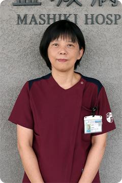 写真:益城病院 看護部長 金子 元子