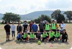 スポーツクラブ活動の写真