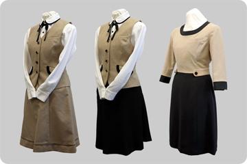 事務制服(3種類/女性)の写真