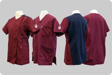 看護師制服の写真